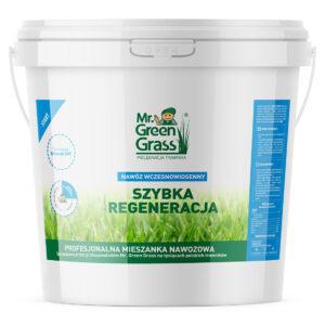Nawóz wczesnowiosenny do trawy – Szybka regeneracja – Mr. Green Grass®