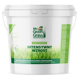 Nawóz wiosenny do trawy – Intensywny wzrost – Mr. Green Grass®