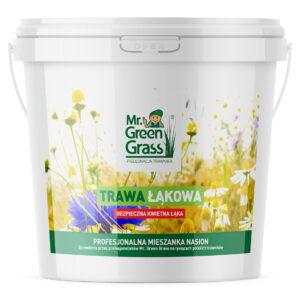 Trawa łąkowa - bezpieczna kwietna łąka - mieszanka nasion Mr. Green Grass®