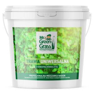 Trawa uniwersalna z koniczyną drobnolistną - mieszanka nasion Mr. Green Grass®