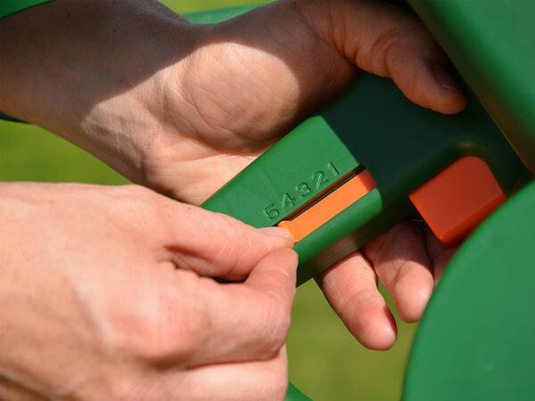 Ustawienie siewnika ręcznego